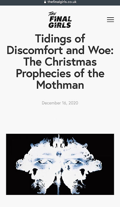 tidings of discomfort and woe - the Chri