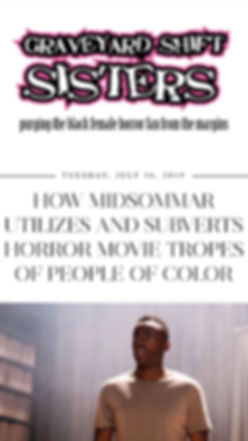 midsommar horror movie tropes people of