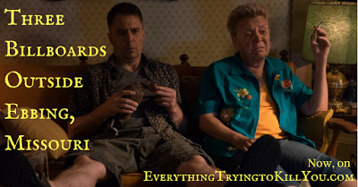 LADIES DON'T BEAT THE DAYLIGHTS OUT OF PEOPLE: MILDRED'S COCKTAIL IN THREE BILLBOARDS OUTSIDE EBBING