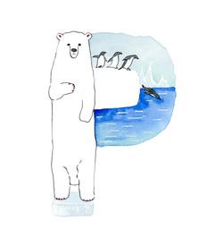 Polar bear&Penguin.
