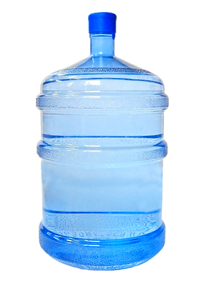 Refillable water jug