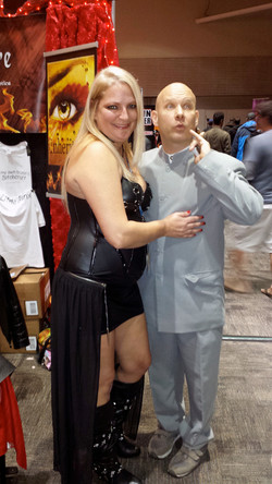 Me and Dr. Evil