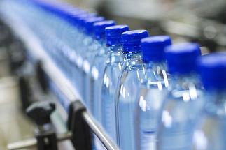 Bottled water factory