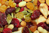 Paris Health Store - dried fruit and nuts
