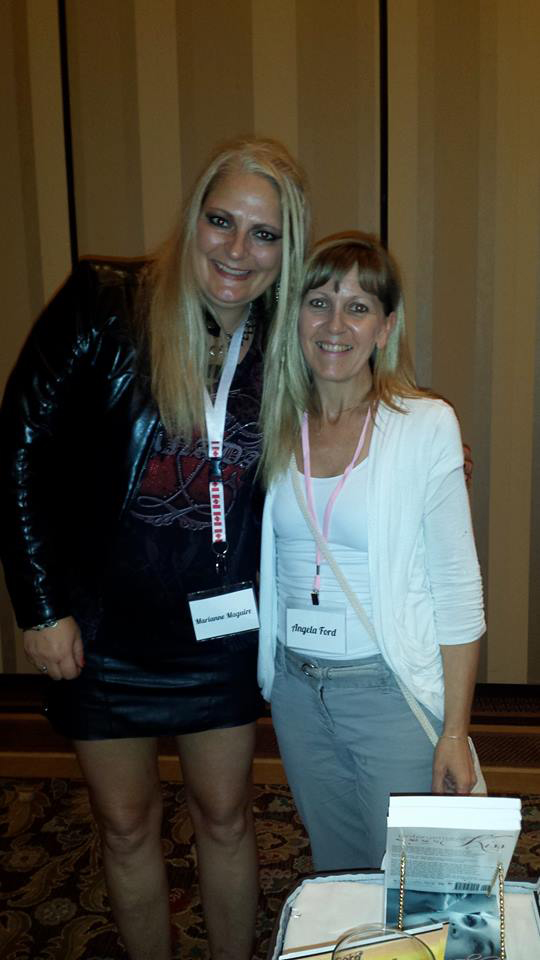Me and Author Angela Ford