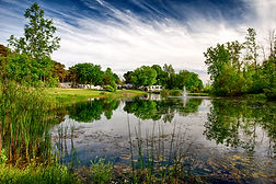 Olympia Village RV Park Pond1