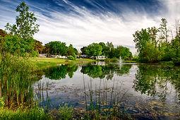 Olympia Village RV Park Pond1