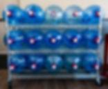 Water jug filling station