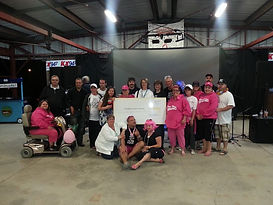 Olympia Village RV Park Think Pink