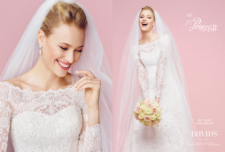 BE YOUR OWN BRIDE | DAVIDS BRIDAL | RANKIN