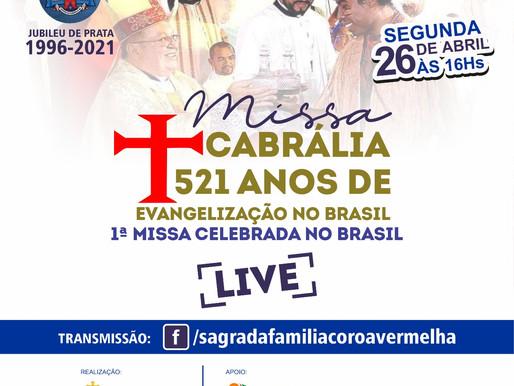 1ª Missa Celebrada no Brasil