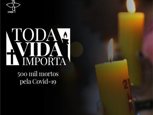Já são 500 mil vítimas perdidas para a COVID-19.