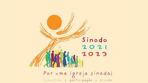 """Série: Sínodo 2021 - 2023   """"Para uma Igreja Sinodal: Comunhão, Participação e Missão"""""""