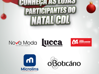 Lojas Participantes do Natal CDL