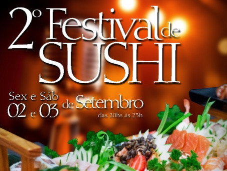 2° Festival de Sushi