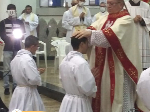 Diocese de Eunápolis teve a alegria de celebrar mais uma Ordenação Diaconal