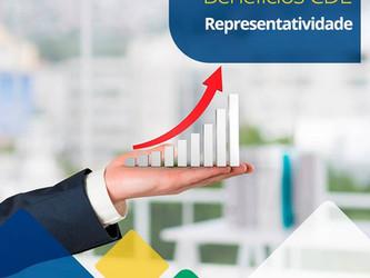 Benefícios CDL - Representatividade