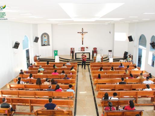 """RCC realiza """"Módulo Básico de Formação"""" nas foranias da Diocese de Eunápolis"""