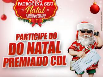 Participe do Natal Premiado CDL