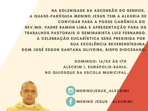 Missa de Posse do Rev. Mo. Padre Ramon Lima