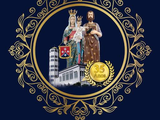 Festa da Padroeira da Diocese de Eunápolis Nossa Senhora Auxiliadora 2021