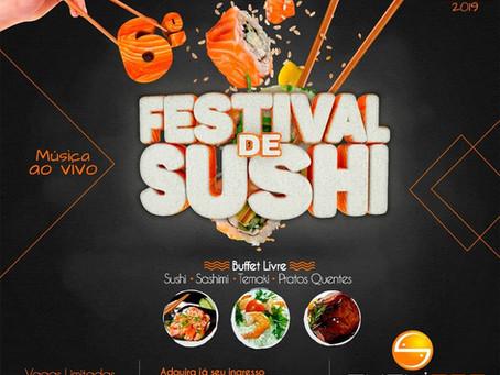 6° Festival de Sushi