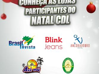 Conheça as lojas participantes do Natal CDL