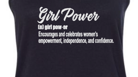 Girl Power Definition Tank