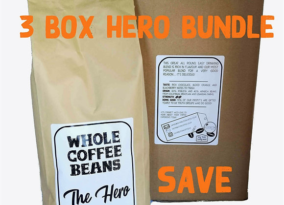 3 box Hero Beans Bundle | SAVE £24.02!