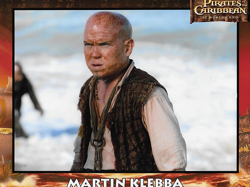 Martin Klebba (Pirates Of The Caribbean)