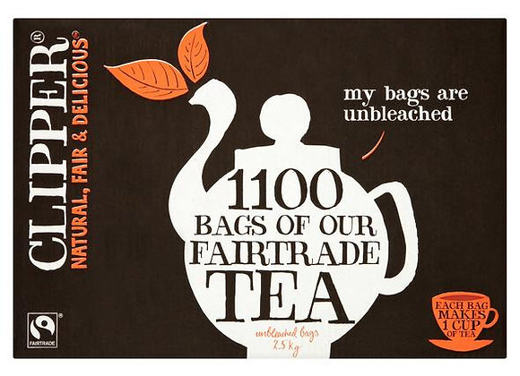 Clipper Fairtrade tea bags | 1100 bags