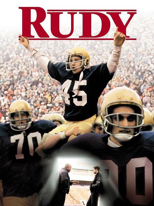 Rudy Ruettiger (Rudy, Notre Dame)