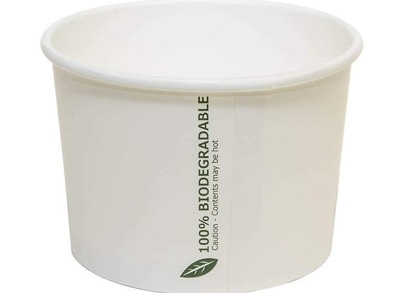 Takeaway container with lids x500   100% biodegradable   455ml/16oz