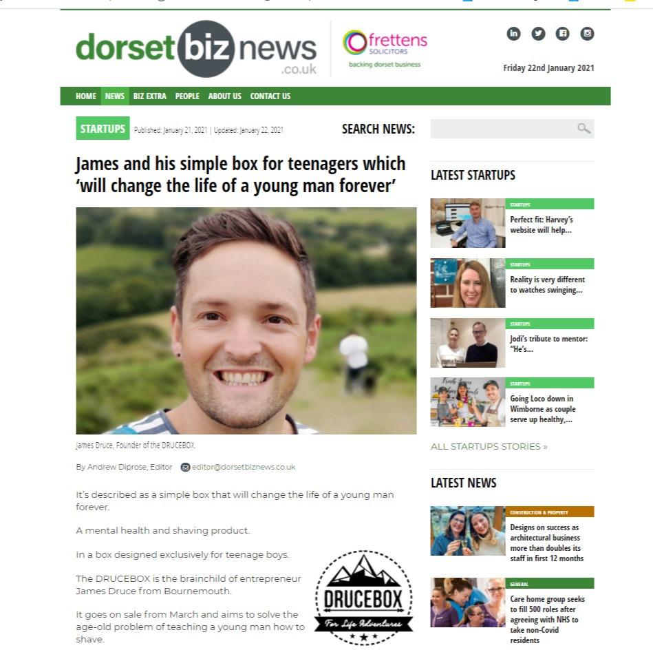 Dorset biz news share the success of teenage shaving and teenage mental health