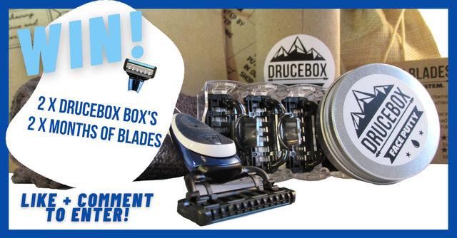 WIN a DRUCEBOX and bonus razor cartridges!