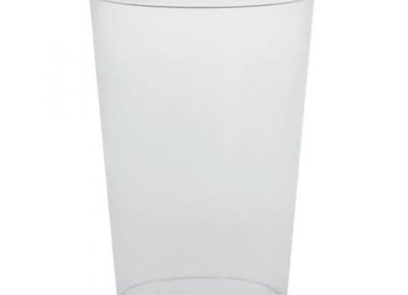 Half pint plastic cups/10oz (1,000) ~ recyclable and disposable