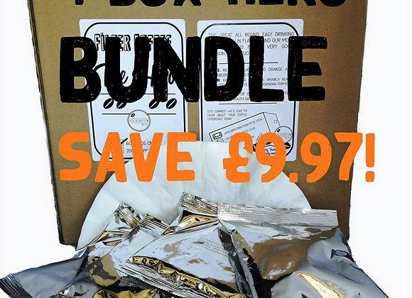 4 Box Hero Coffee Bundle > SAVE £9.97!