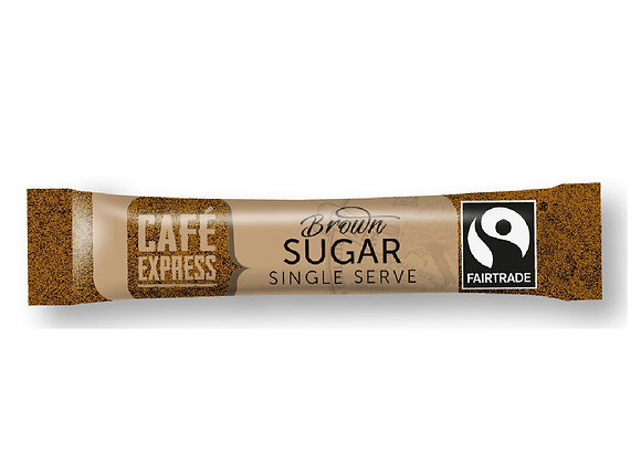 Fairtrade Brown Sugar Sticks (1000)