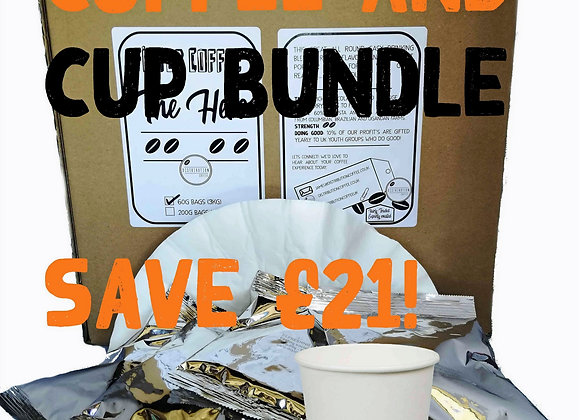 Coffee and Cup Bundle   SAVE £21 !!!