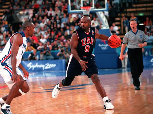 Tim Hardaway (Golden State Warriors, USA Olympic Team)