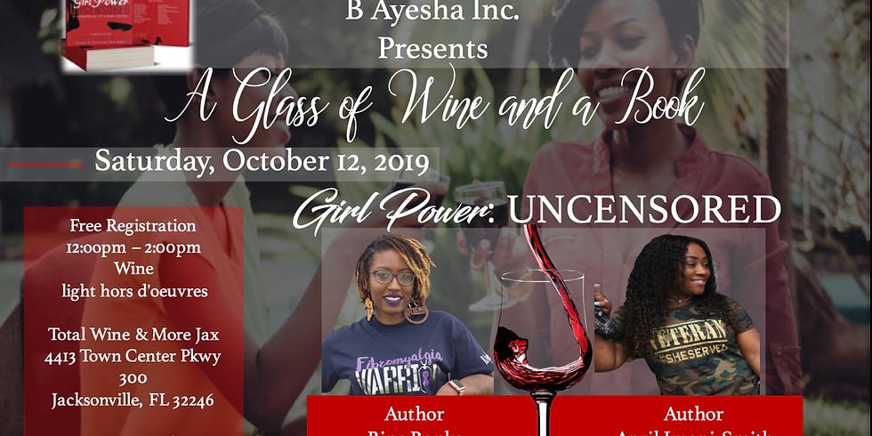 A Glass of wine & a Book