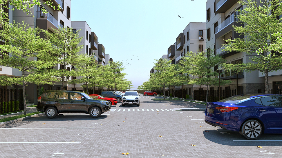 1, 2 Bed - County Apartments, Nigeria