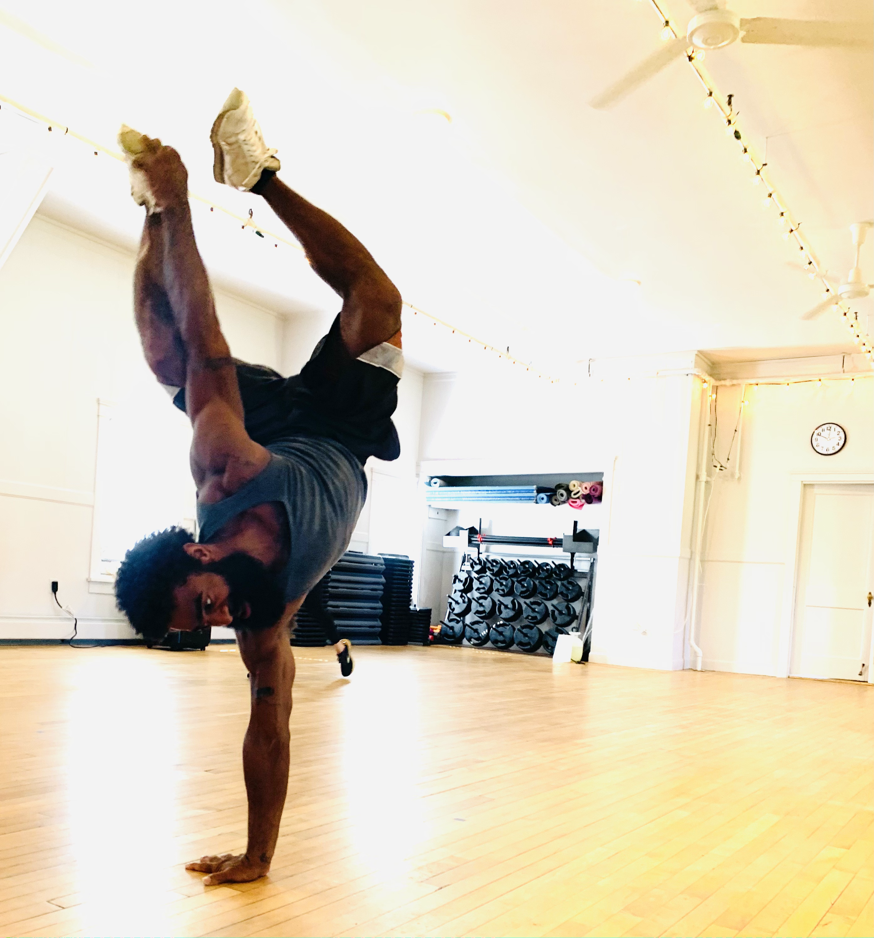Breakdance Class with Chris Harrison