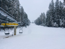 Nova lanovka Lipenská Lipnonad Vltavou Ski Areál.
