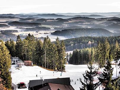 Ski Lipno Kramolín. Ubytování u lanovky Vila Lanovka.
