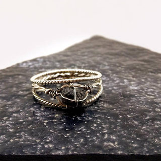 Raw Diamond Ring
