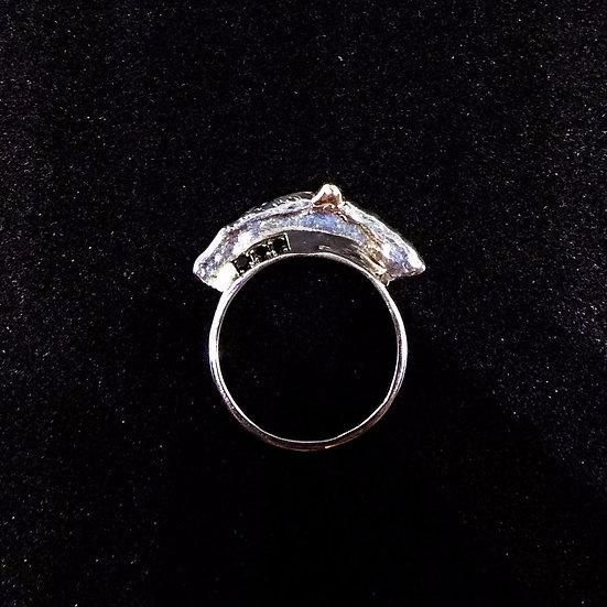 Logo signature ring set