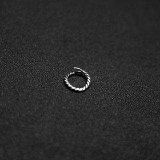 Circle Silver Septum