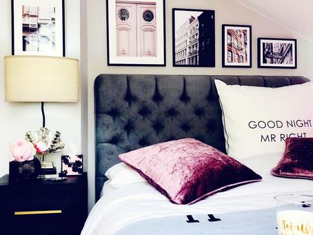Schlafzimmer mit Dachschräge - Wandgestaltung