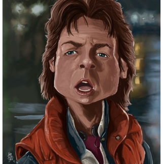 Back to the Future-Marty McFly